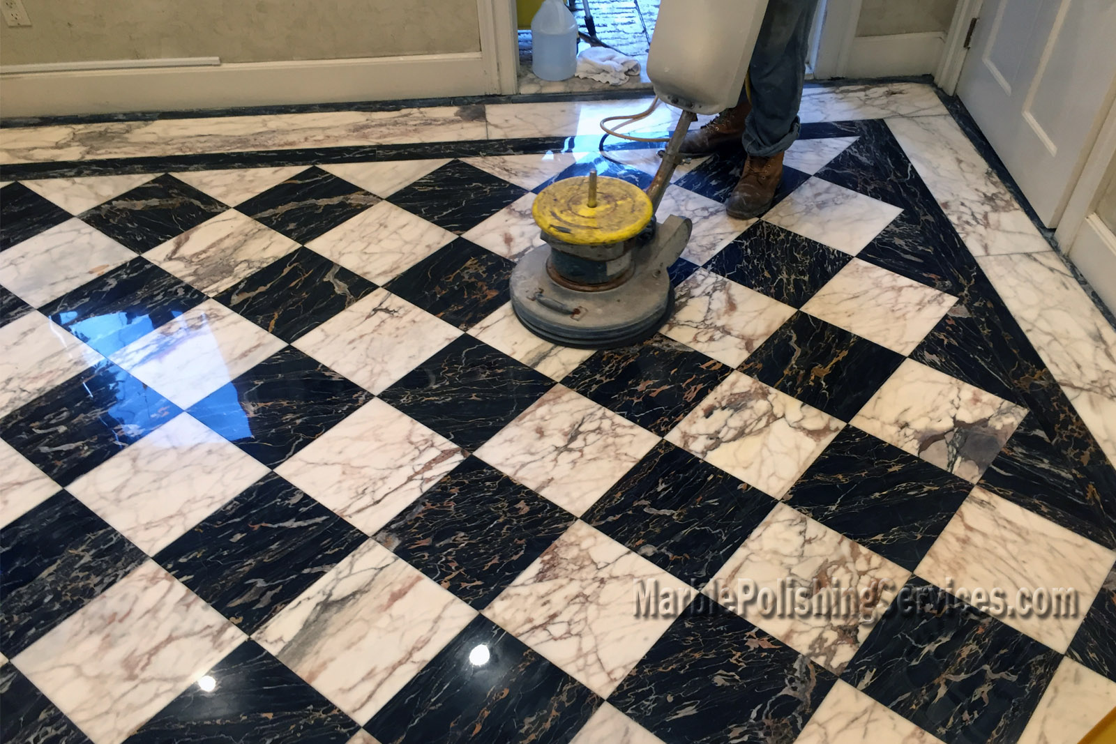 Marble Cleaning Services : Marble polishing gallery services