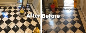 Marble Polishing Before & After