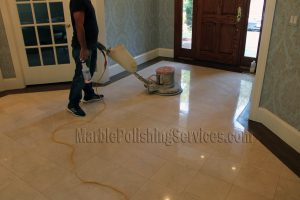 Marble Floor Restoration and Polishing in New Jersey