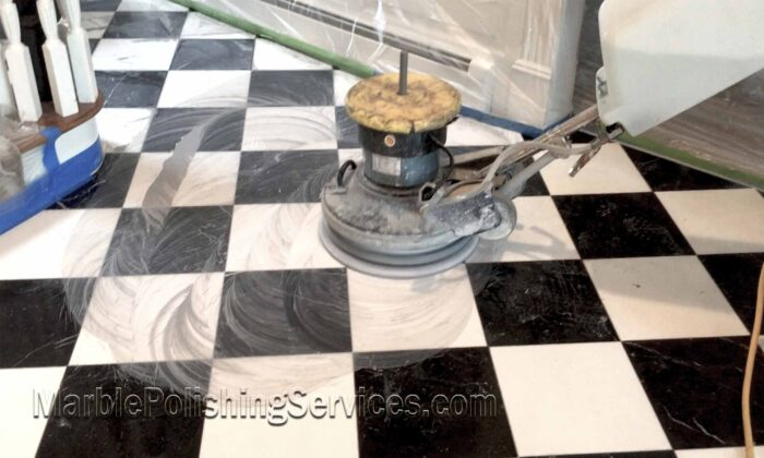 Marble Floor Cleaning Polishing and Sealing in the Hamptons NY