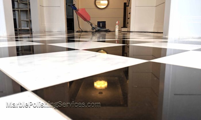 Marble Floor Restoration and Polishing in NJ