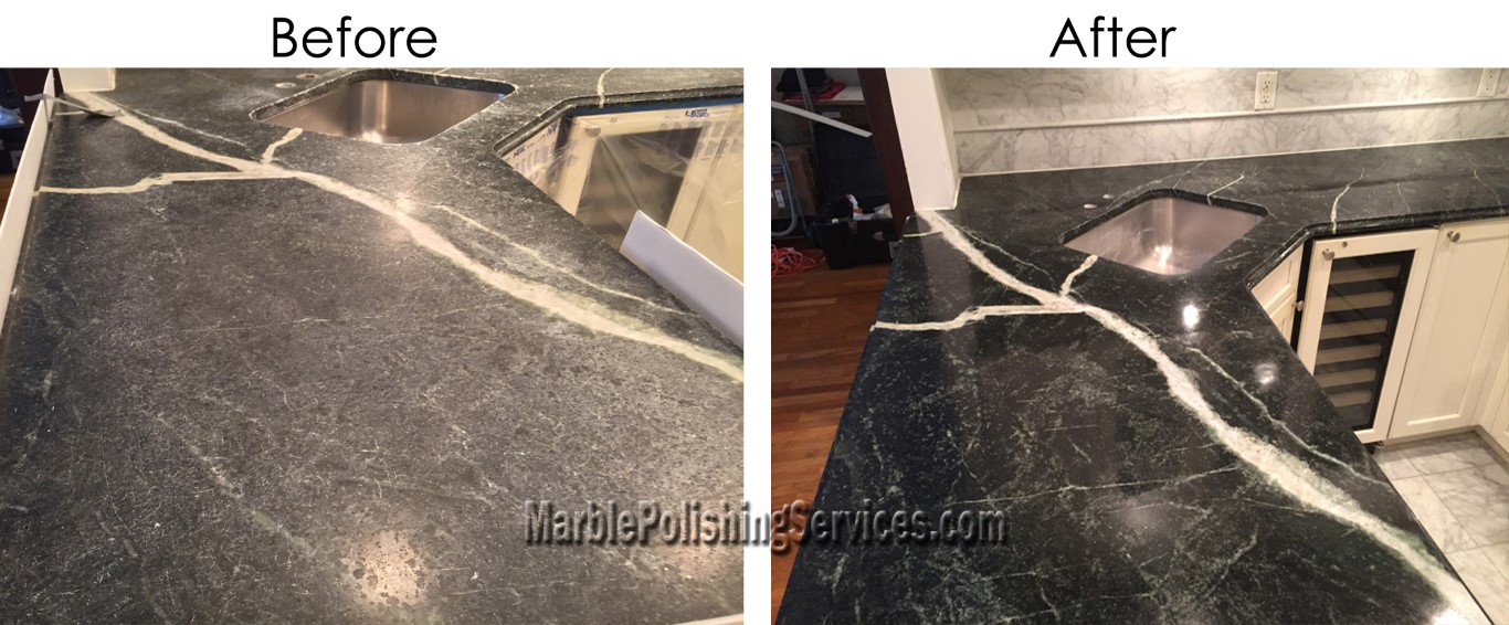 Kitchen Countertop Restoration