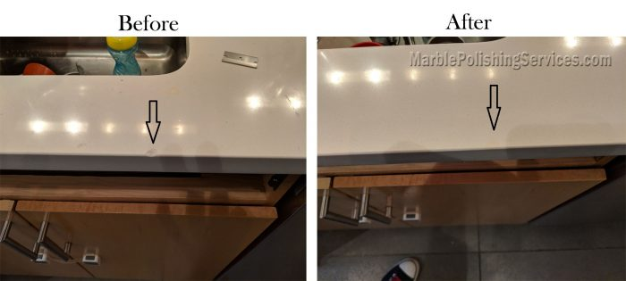 Quartz Countertop Chip Repair NYC