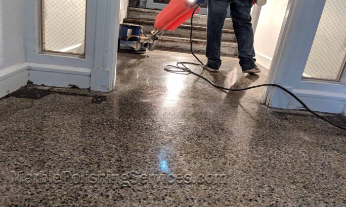 Terrazzo Floor Polishing Cleaning and Restoration