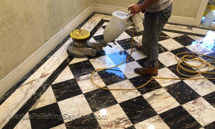 Marble Floor Polishing Cleaning and Restoration Philadelphia